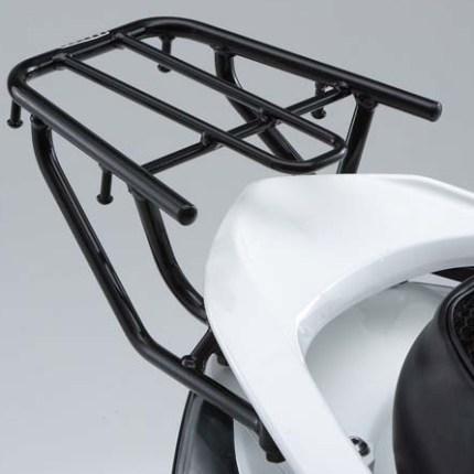シグナスX 2013年~ リアキャリア スチールパイプ ブラック 最大積載量5kg YAMAHA(ヤマハ純正)