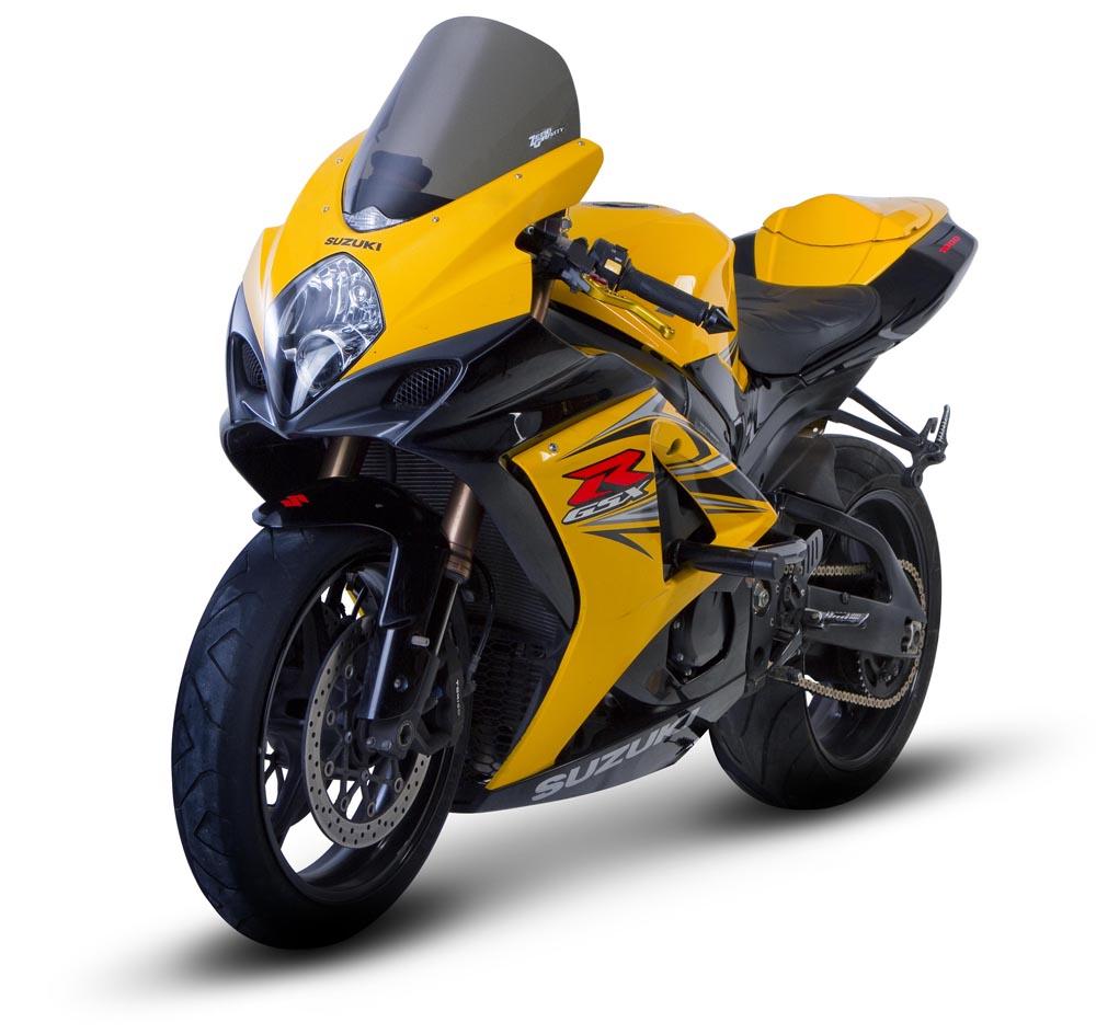 GSX-R1000(07~08年) スクリーン スポーツツーリング スモーク (ポジションランプ付車両専用) ゼログラビティ(ZERO GRAVITY)