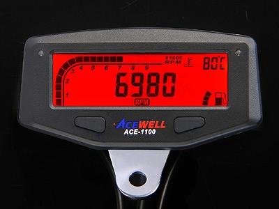 ACEWELL エースウェル ACE-1100 多機能 デジタルメーター タコメーター ACEWELL エースウェル ace-1100