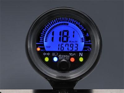 ACEWELL エースウェル MD052-353 多機能 デジタルメーター スピードメーター タコメーター ACEWELL エースウェル md052-353