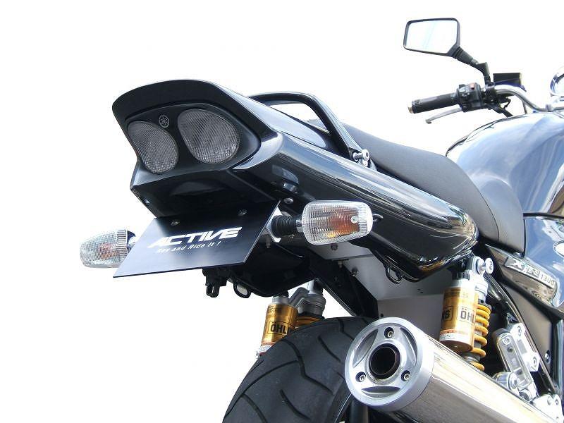 XJR1200/1300 フェンダーレス キット ブラック ナンバー灯純正使用 ACTIVE アクティブ 1153038 フェンダーレスキット XJR1200 94-97/1300 98-15
