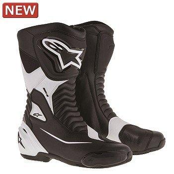 アルパインスターズ Alpinestars SMX S BOOT オンロードブーツ ブーツ 12 ブラック ホワイト 44サイズ
