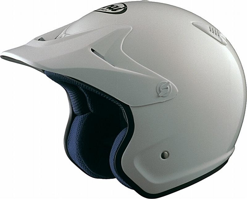 Arai ARAI T HYPER hyper tea Shiro ARAI motorcycle helmet offroad ally white 59-60