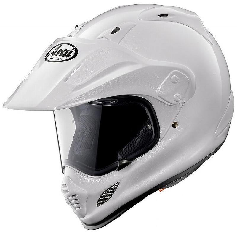 ARAI アライ TOUR CROSS3 ツアークロス3 グラスホワイト 59-60 アライ ARAI バイク ヘルメット オフロード