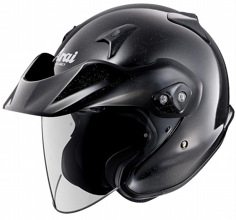 ARAI アライ CT-Z グラスブラック 61-62 アライ ARAI バイク ヘルメット ジェット