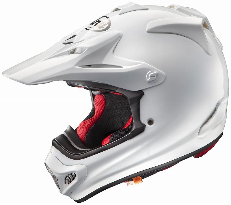ARAI アライ V-CROSS4 Vクロス4 シロ 白 57-58 アライ ARAI バイク ヘルメット オフロード