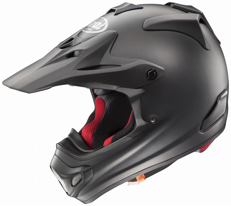 ARAI motorcycle helmet offroad Arai Arai ARAI V-CROSS4 V cross-4 flat black 61 - 62