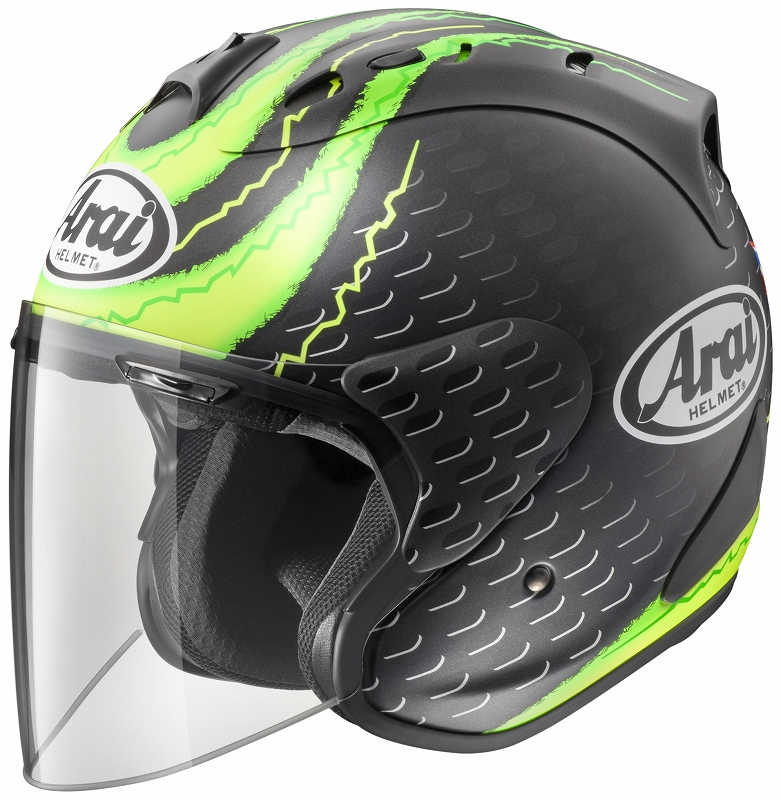 ARAI アライ SZ-RAM4 CRUTCHLOW GP クラッチロウGP 55-56 アライ ARAI バイク ヘルメット ジェット