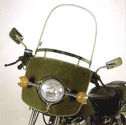 Asahi windshield Asahi Seiki instrument No99 SPORT (sport) windshield pipe handle only 50 cc-750 cc 4560122612032