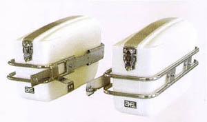 旭風防 旭精器 AC-10 チャンピオンバック HONDA Vツインマグナ(S) 白色 4582126540098 旭風防 旭精器 ac-10