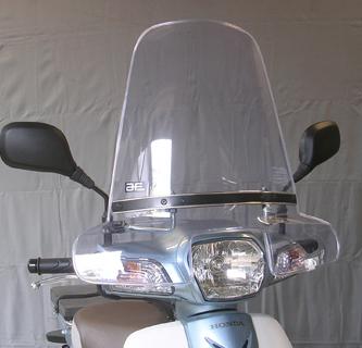旭風防 旭精器 SPC-19 ウインドシールド ホンダ スーパーカブ110(中国製) 4560122612643