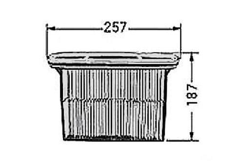 BOSCH ボッシュ 2607432016 メインフィルター GAS50用木工専用