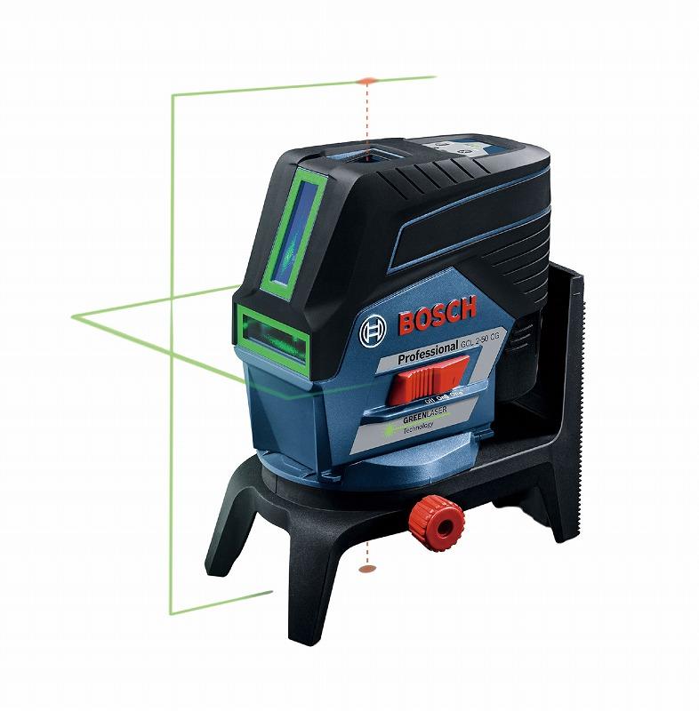 BOSCH ボッシュ GCL2-50CG レーザー墨出し器 136×55×122mm