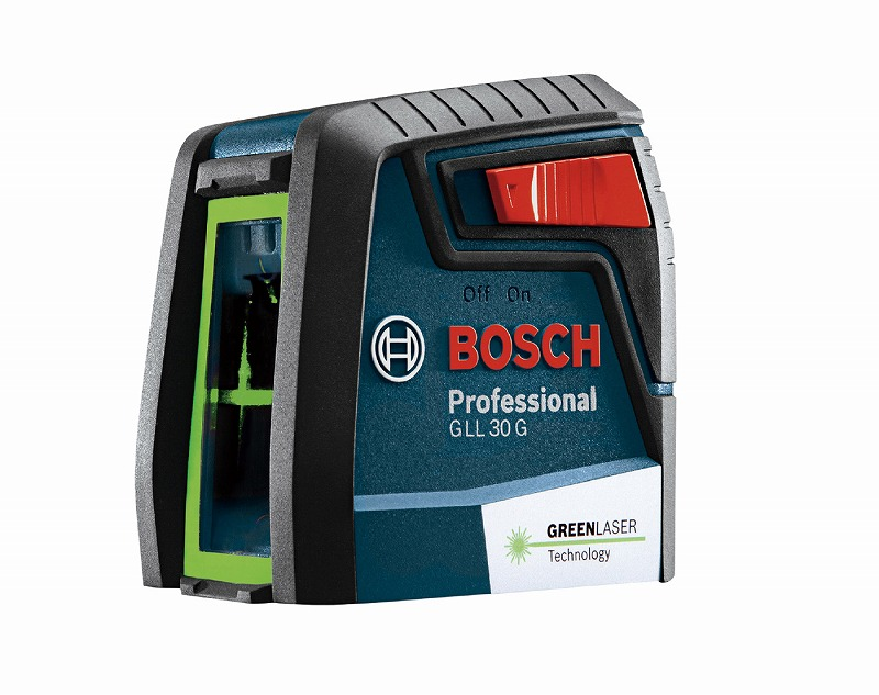 BOSCH ボッシュ GLL30G クロスラインレーザー 72×71×55mm