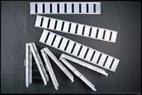 アルミのはしご 27-5003 ラダーレール ストレ-トSBA-210-30ツメ付 アルミのはしご 27-5003