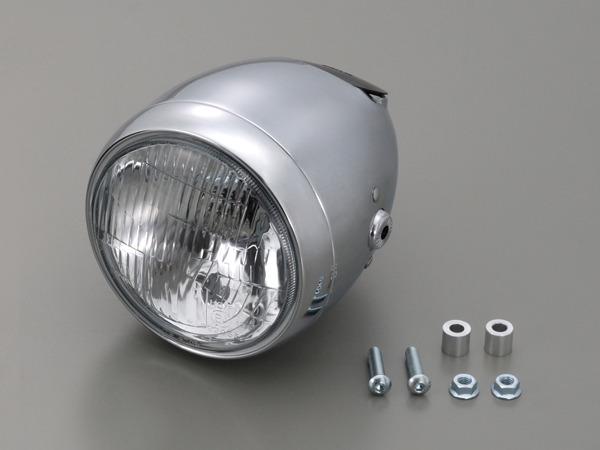 デイトナ 79159 ビンテージスモールヘッドライト クローム