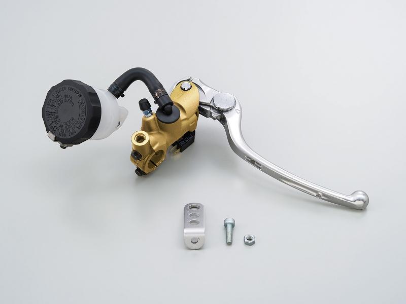 デイトナ 79884 NISSIN ラジアルブレーキマスター φ19 ゴールド/シルバ-
