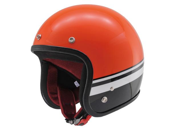 デイトナ 90390 HATTRICK パイロットヘルメット BLシリーズ HT DA01 BL オレンジ/ブラック XLサイズ