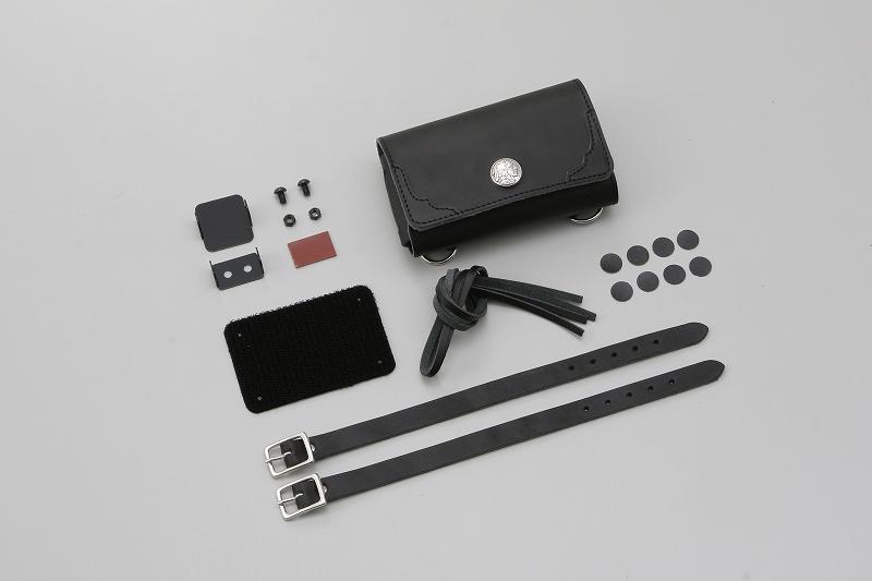 デイトナ 91049 革鎧ETCケース 汎用 ブラック