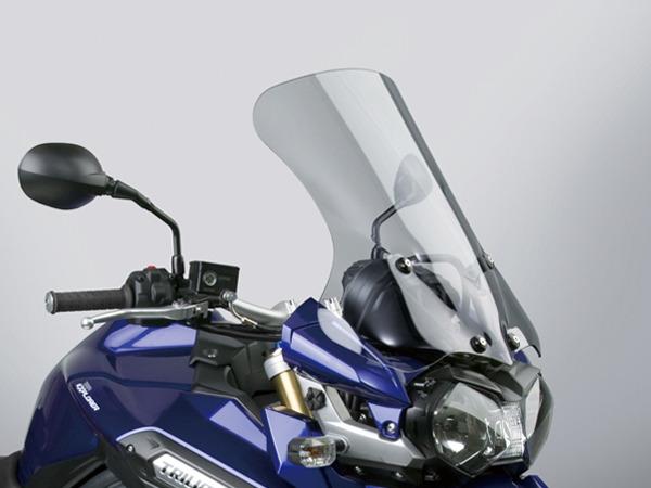 デイトナ 91346 NATIONAL CYCLE VSTREAM ウインドシールド ミドル/ライトスモーク TIGER EXPLORER タイガーエクスプローラー