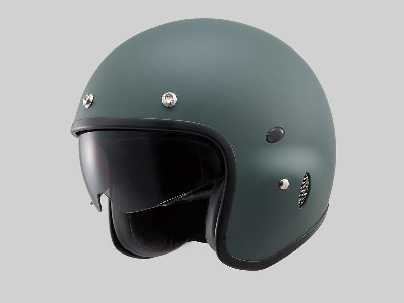 デイトナ 91408 HATTRICK パイロットヘルメット PH-1 マットグリーン Mフリーサイズ