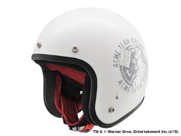 デイトナ 91495 HATTRICK パイロットヘルメット ワイリーコヨーテ HT DA1 LT01 アイボリー フリーサイズ