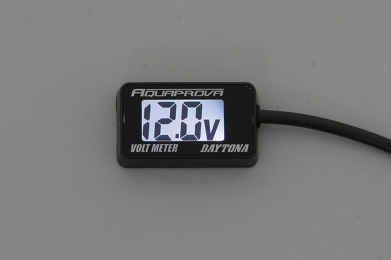 Daytona 92386 electric car AQUAPROVA compact volt meter