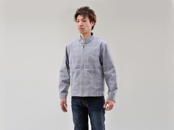 デイトナ 94176 NHB-1607 カフェスタイルジャケット グレンチェック Mサイズ