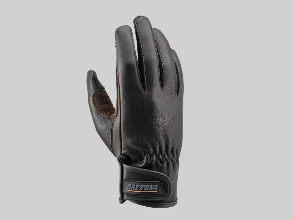 Daytona 95300 HBG009 Goat Skin Glove Standard Black Brown XL Size For Touch Panel