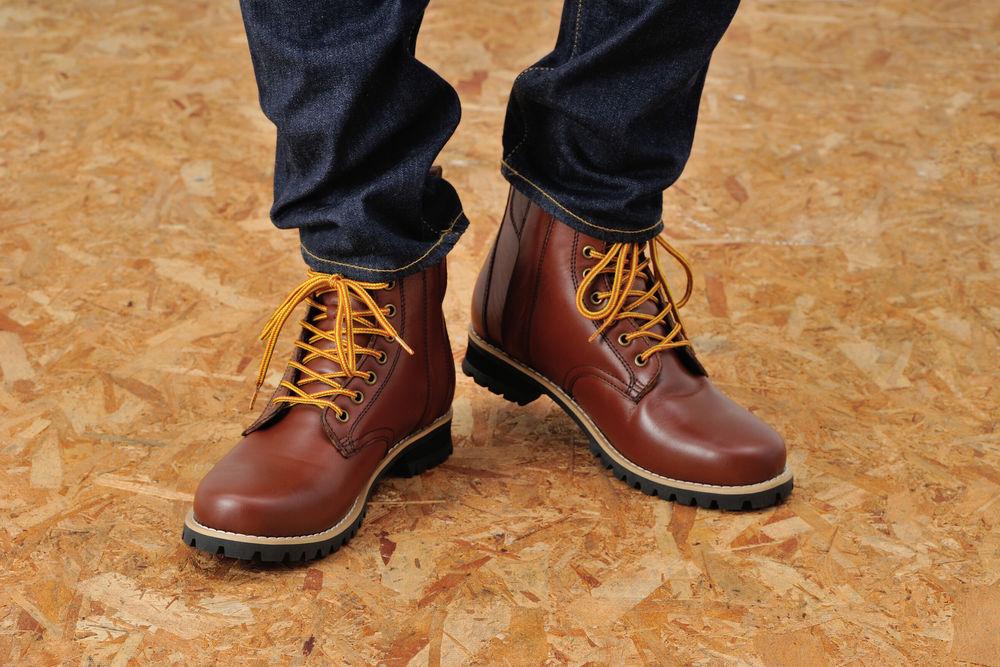 デイトナ 96971 HBS-003 ショートブーツ ブラウン 25.0サイズ くつ 靴