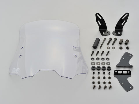 デイトナ 99187 ウインドシールドRS 車種別キット シグナスX-SR (B8S) ハードコートクリアー ミドルサイズ 風防 スクリーン