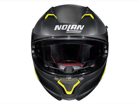 デイトナ 99313 NOLAN ノーラン N87 エンブレマ フラットブラック イエロー Mサイズ ヘルメット フルフェイス