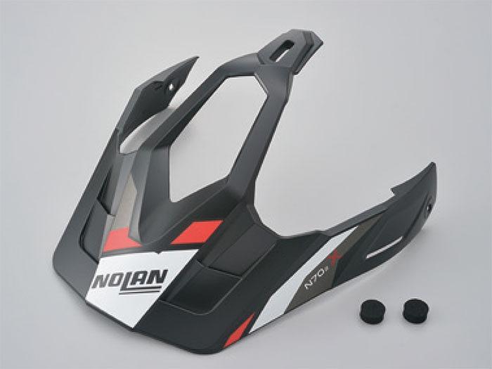 デイトナ 99756 NOLAN ノーラン バイザー PEEK ヘルメット補修パーツ L-XLサイズ ヘルメット 5%OFF 驚きの値段 フラットブラック N702X
