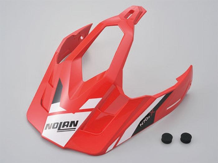 海外並行輸入正規品 デイトナ 99761 NOLAN ノーラン バイザー 誕生日/お祝い PEEK N702X コルサレッド ヘルメット ヘルメット補修パーツ S-Mサイズ 28