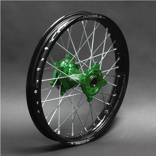 正規品販売! Z-Wheel W21-23011 W21-23011 AR1 ホイールキット リヤ ホイールキット KX125'03-,KXF250 リヤ 19