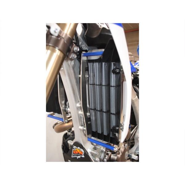 AXP AX1283 ラジエターガード ブルー YZ250F/450F 14-17