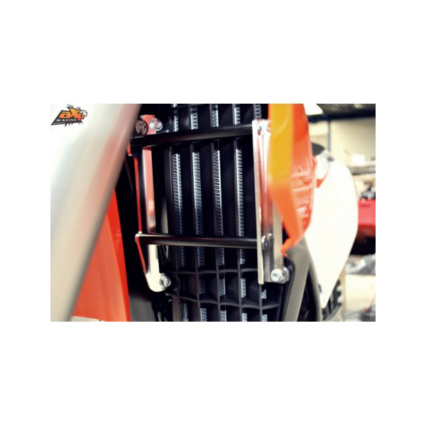 AXP AX1360 商い ラジエターガード ブラック 16-17 250-450SXF 人気急上昇 125SX KTM