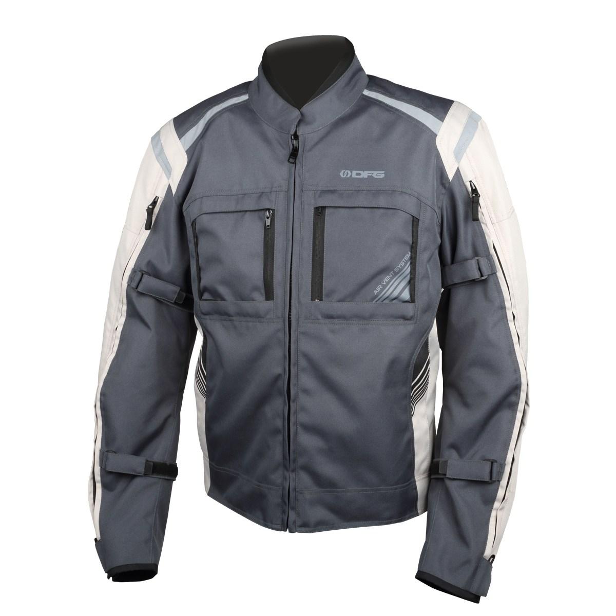 DFG DG2304-0035 ナビゲータークールジャケット スチール/シルバー XXLサイズ ダートフリーク