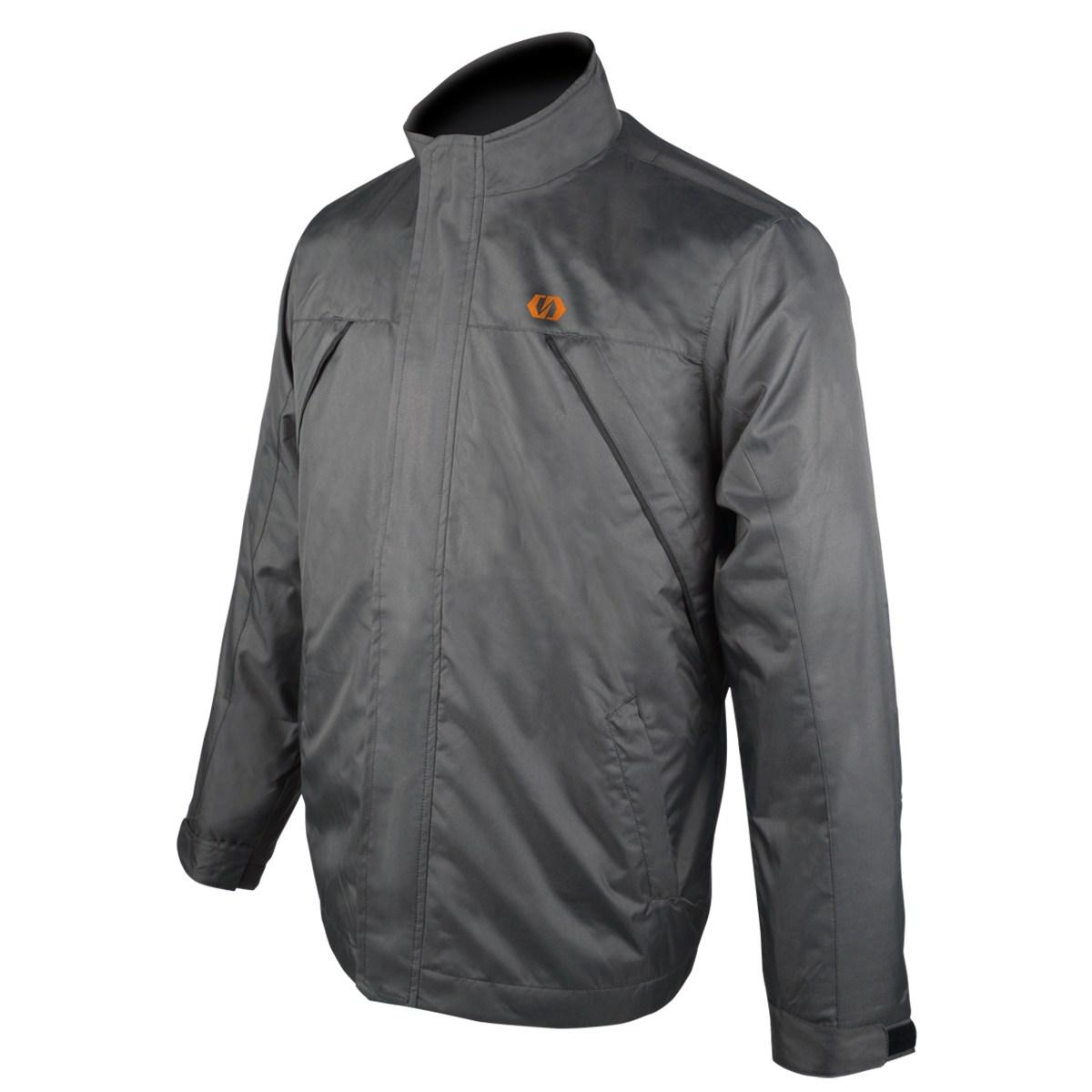 DFG DG2365-1505 ランバージャケット グレー/オレンジ Lサイズ ダートフリーク