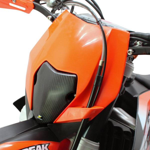 Z-Carbon Zカーボン ZC45-1341 ヘッドライトエリミネーター EXC/EXC-F/XCF-W/XC-W ダートフリーク