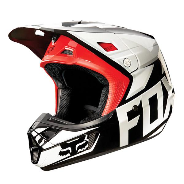 FOX フォックス 11080-001-M V2 ヘルメット レース 2015 ブラック Mサイズ 公道走行不可 レース専用 ダートフリーク