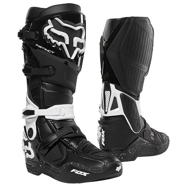 FOX フォックス 12252-018-11 インスティンクト2.0ブーツ ブラック/ホワイト 11サイズ/27.5cm ダートフリーク