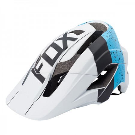 FOX フォックス 17893-025-S/M メタヘルメット ブルー/ホワイト S/Mサイズ 自転車用 ダートフリーク