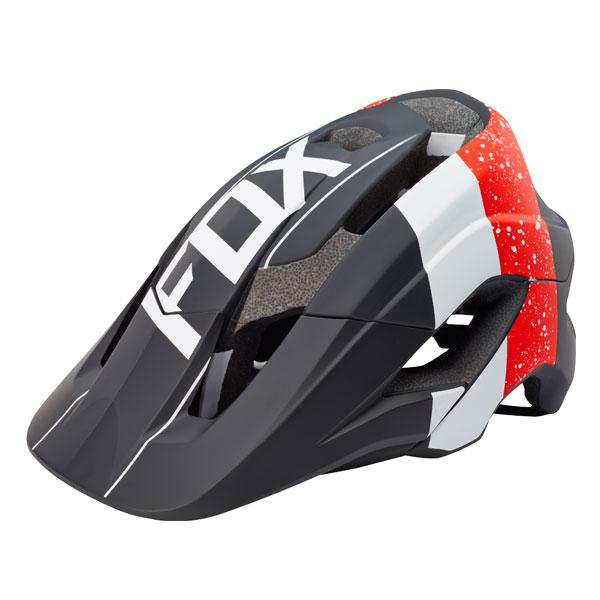 FOX フォックス 17893-055-S/M メタヘルメット レッド/ブラック S/Mサイズ 自転車用 ダートフリーク