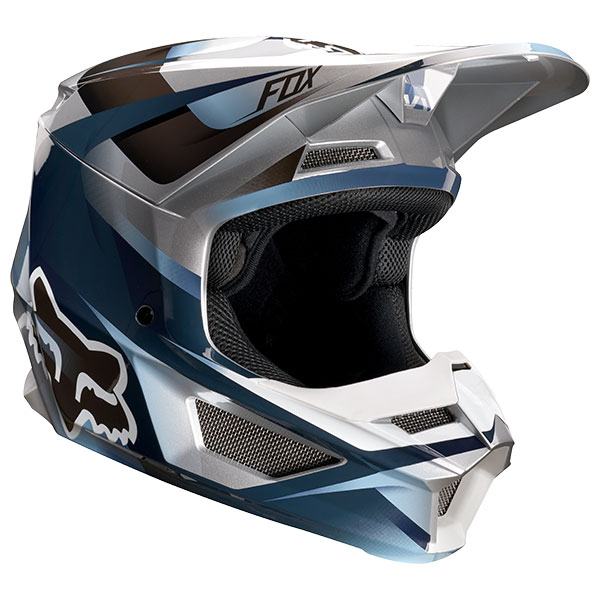 FOX フォックス 21784-024-S V1 モティーフヘルメット ユース/キッズ ブルー/グレー YSサイズ/47cm~48cm ダートフリーク