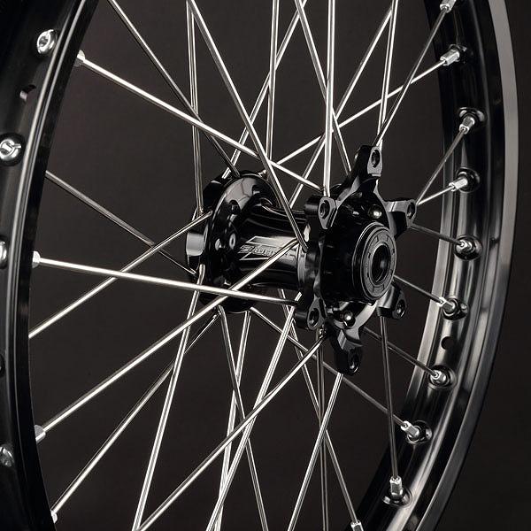 Z-Wheel ズィーウィール W41-23111 AR1ミニ用リプレースメントハブ アステライトハブ フロント ブラック KX85 KX100 ダートフリーク