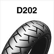 ダンロップ DUNLOP 225543 D202 120/70R17M 58V TL フロント バイク タイヤ ダンロップ 225543