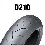 ダンロップ DUNLOP 289539 D210 120/70ZR17M (58W) TL フロント バイク タイヤ ダンロップ 289539