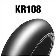 ダンロップ DUNLOP 304097 KR108 195/65R17 TL リア バイク タイヤ ダンロップ 304097