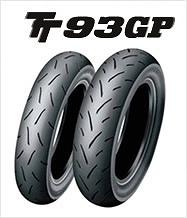 ダンロップ DUNLOP 305385 TT93GP 120/70-12 51L バイク タイヤ ダンロップ 305385